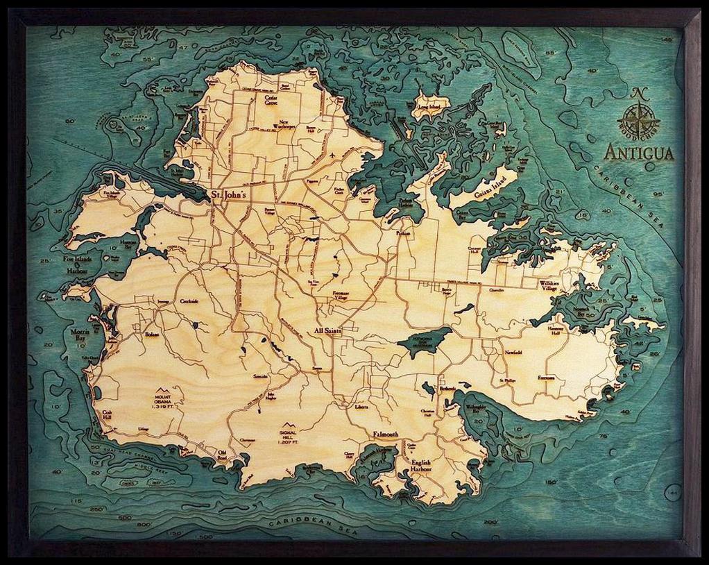 Ads - Bathymetric Maps