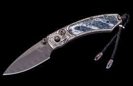 William Henry Limited Edition B09 Silver Lair Knife