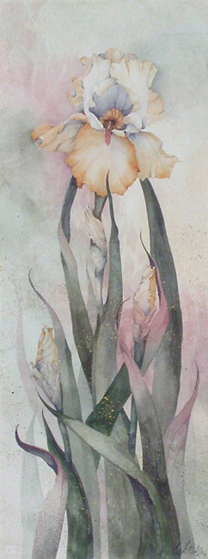 Beki Killorin Original Watercolor - Iris
