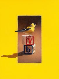 Barbara Banthien Limited Edition Print - Yellow Bird