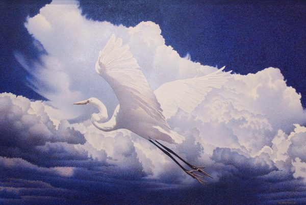 Barbara Banthien Original Painting - Fly Away