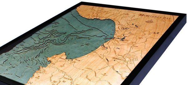 Bathymetric Map Monterey Bay, California
