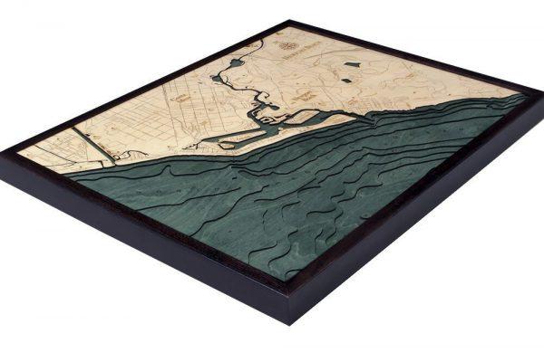 Bathymetric Map Newport Beach, California