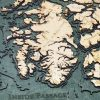 Bathymetric Map Alaska's Inside Passage