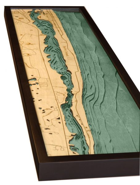 Bathymetric Map Jupiter Island, Florida