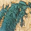 Bathymetric Map Great Lakes
