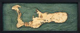 Bathymetric Map Grand Cayman Islands