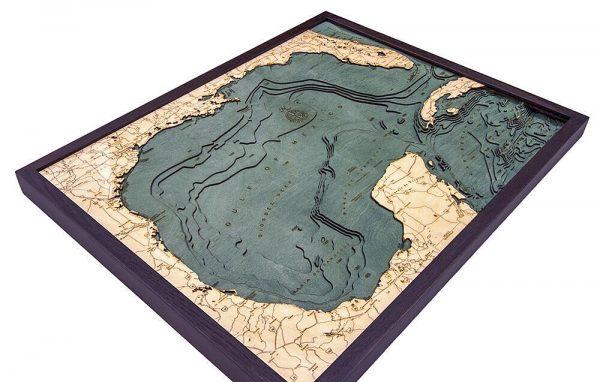 Bathymetric Map Gulf of Mexico