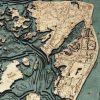 Bathymetric Map Hilton Head, South Carolina