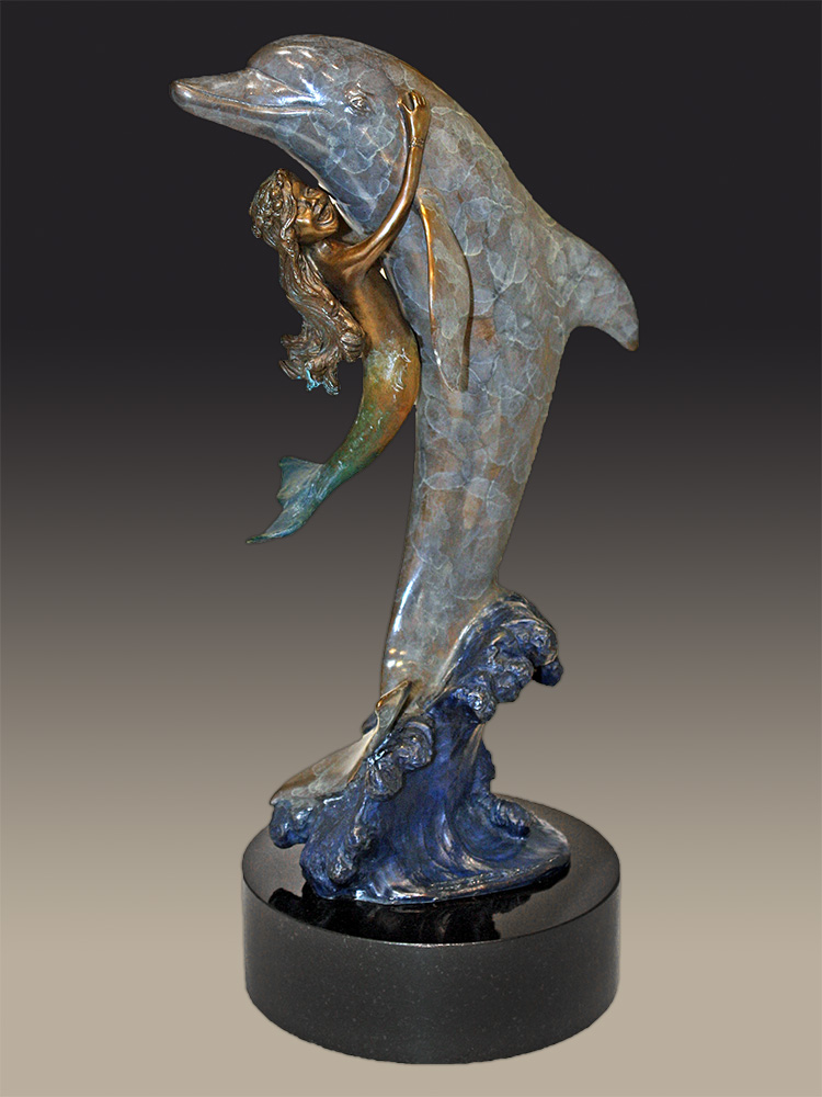Chris Bell Limited Edition Bronze - Friends