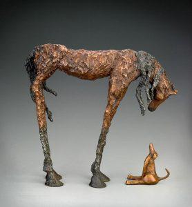 Chris Deverill Bronze Art - The Encounter