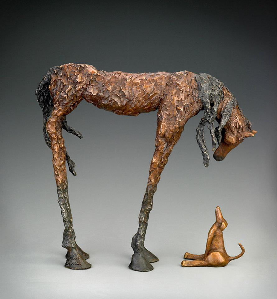 Chris Deverill Bronze Art - The Encounter