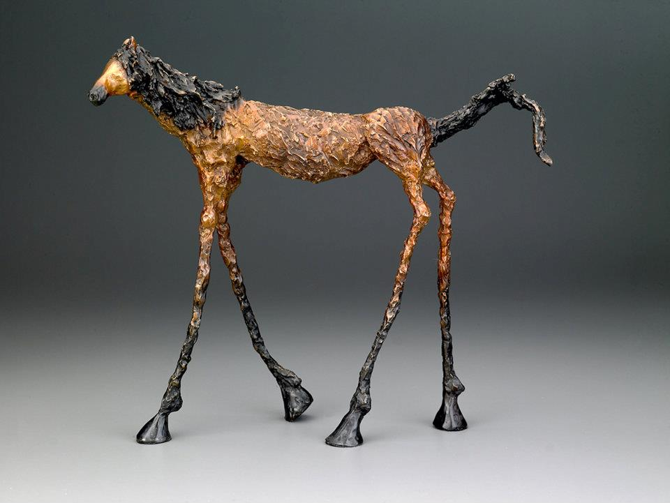 Chris Deverill Bronze Art - Stretch