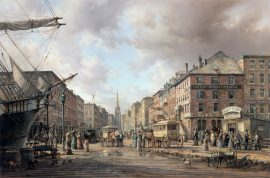 Dusan Kadlec - Wall Street Towards Trinity Church - New York