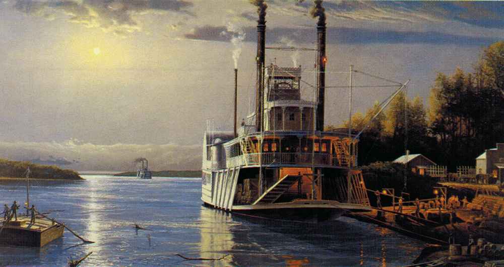 Gary Lucy Limited Edition Print - Mississippi River Landing