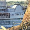 Gary Lucy Limited Edition Print - The Omaha - The Arrival Of The Omaha At The Sioux City Landing