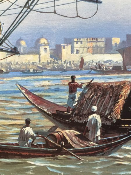 Geoff Hunt - H.M.S. Surprise, Off Calcutta