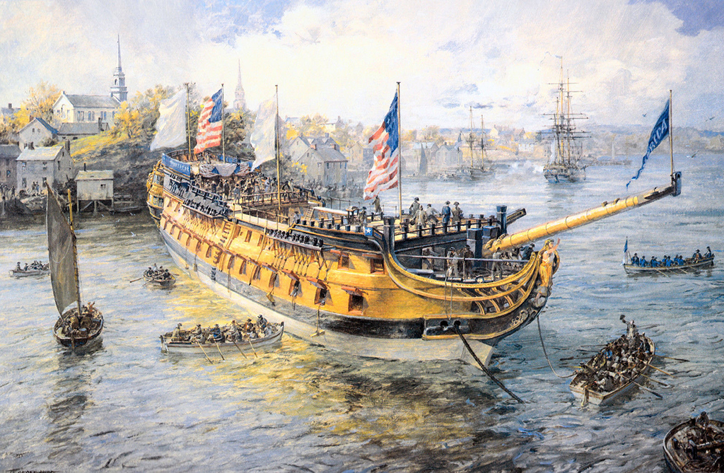 Geoff Hunt - Launching Day, USS America