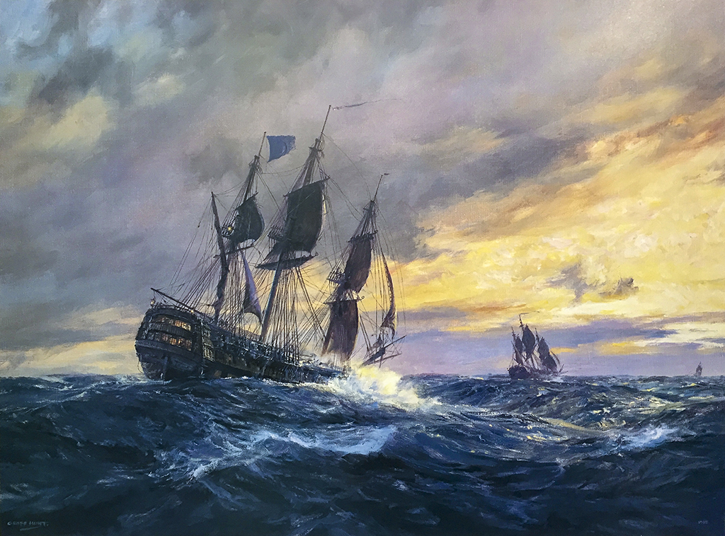 Geoff Hunt - Vanguard In Heavy Weather
