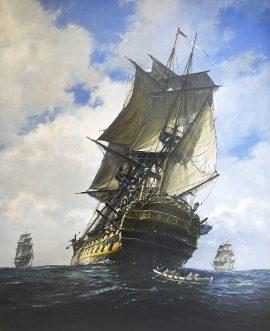 Geoff Hunt Print - Yellow Admiral