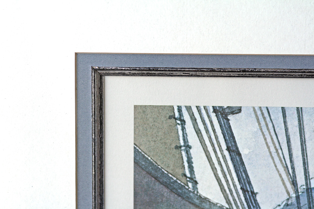 William Gilkerson Limited Edition Print - The Bark 'Nile' (Framed)