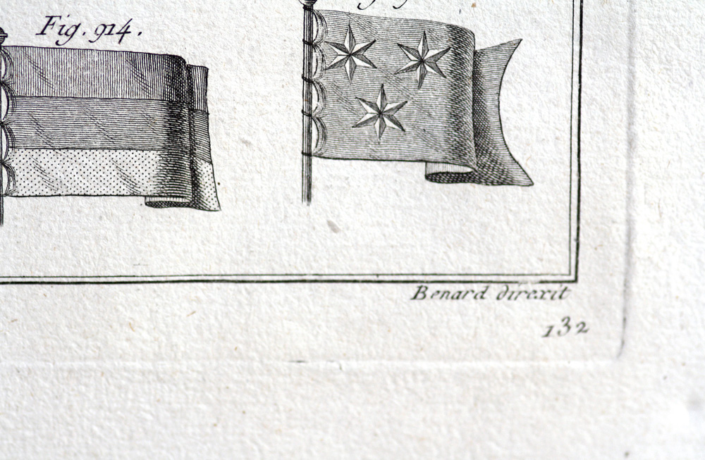 French Royal Navy Maritime Flags 1787