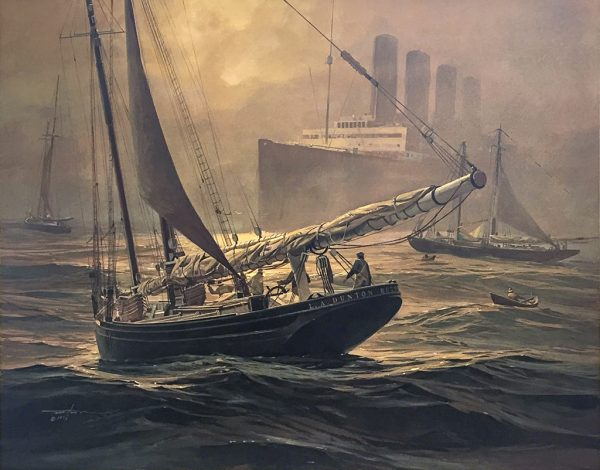 Thomas Hoyne Limited Edition Print – Fog Peril
