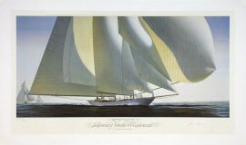 John Mecray Limited Edition Print - Under Full Sail