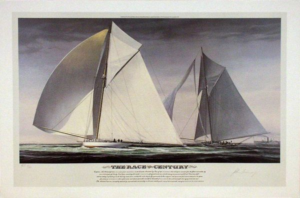 John Mecray Limited Edition Print - Race of the Century