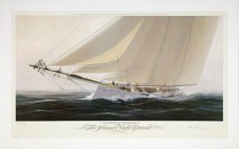 John Mecray Limited Edition Print - Reaching Off Soundings