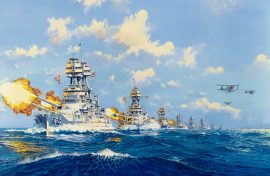 James Flood Limited Edition Print - Pacific Bulwark