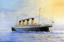 James Flood Limited Edition Print - RMS Titanic
