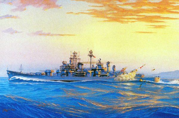 James Flood Limited Edition Print - USS Boston CAG 1