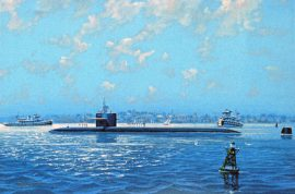 James Flood Limited Edition Print - USS Boston SSN-703