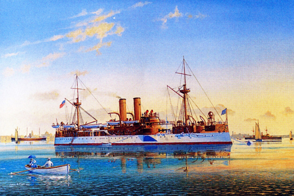 James Flood Limited Edition Print - USS Maine