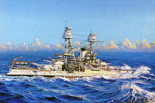 James Flood Limited Edition Print - USS Nevada