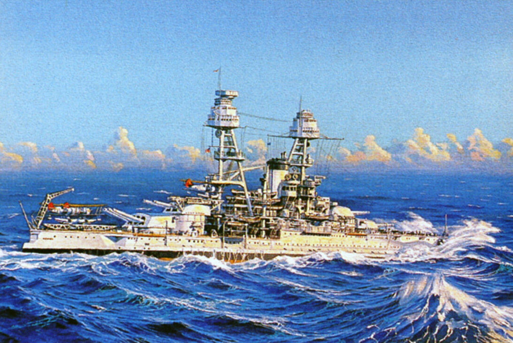 James Flood Limited Edition Print - USS Nevada