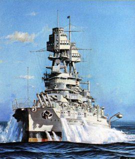 James Flood Limited Edition Print - USS Pennsylvania