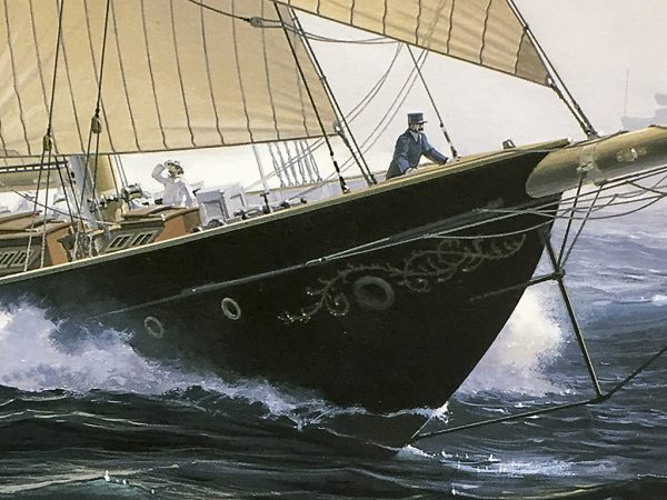 John Mecray Limited Edition Print - An Atlantic Passing
