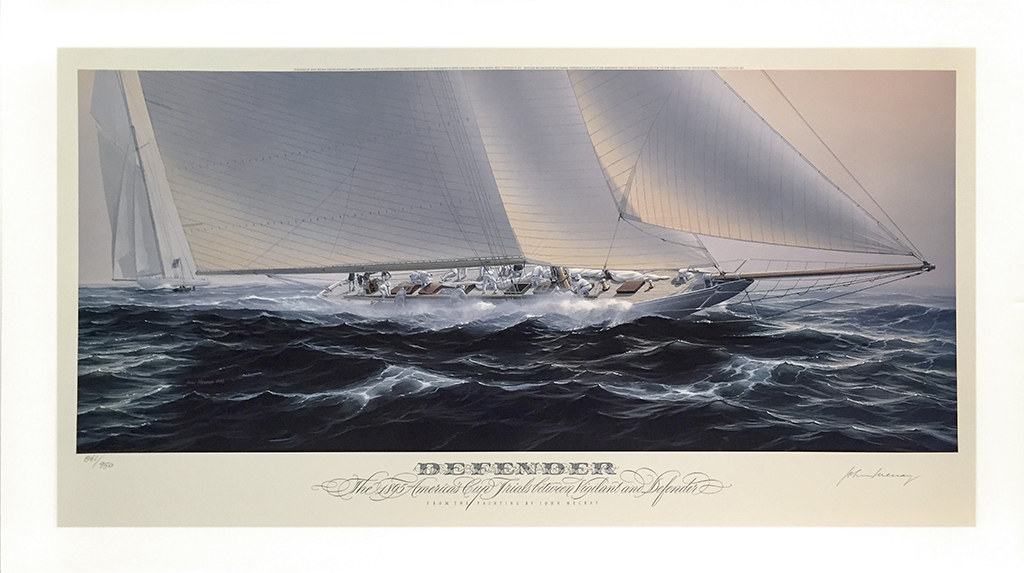 John Mecray Limited Edition Print - Defender