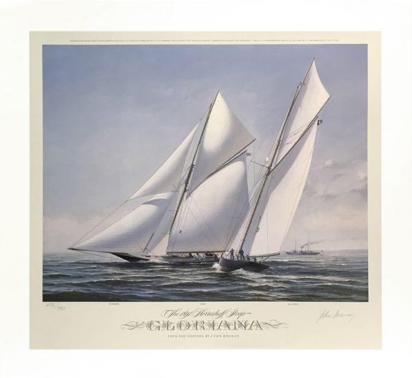 John Mecray Limited Edition Print - Gloriana