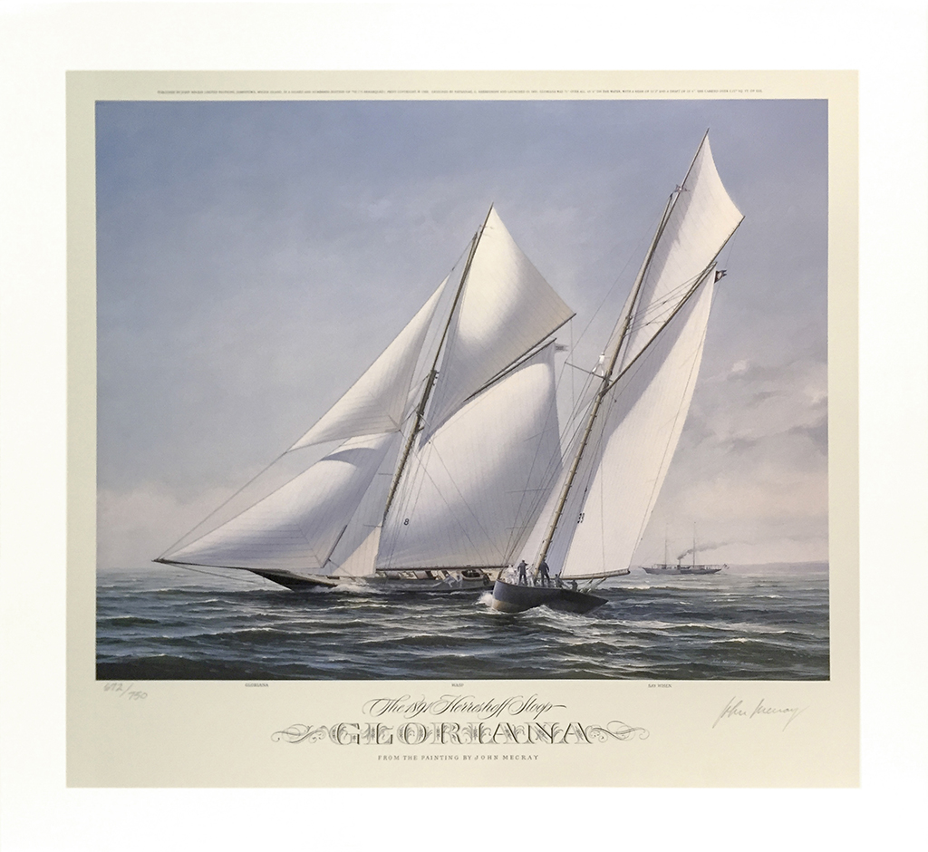 John Mecray Limited Edition Print - Gloriana