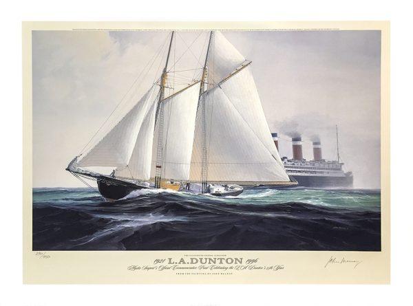John Mecray Limited Edition Print - L.A. Dunton