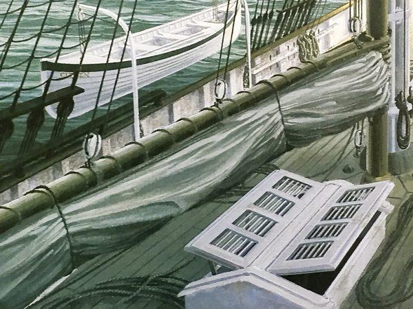 John Mecray Limited Edition Print - New York Harbour