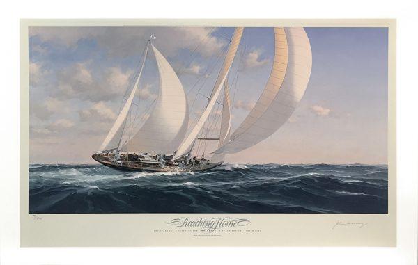 John Mecray Limited Edition Print - Reaching Home