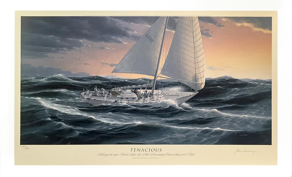 John Mecray Limited Edition Print - Tenacious
