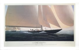 John Mecray Limited Edition Print - The Chase