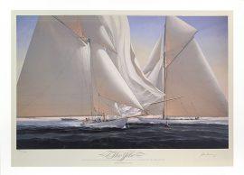 John Mecray Limited Edition Print - The Jibe