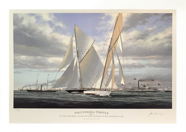 John Mecray Limited Edition Print - Volunteer and Thistle