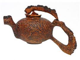Cliff Lounsbury - Redwood Burl Teapot